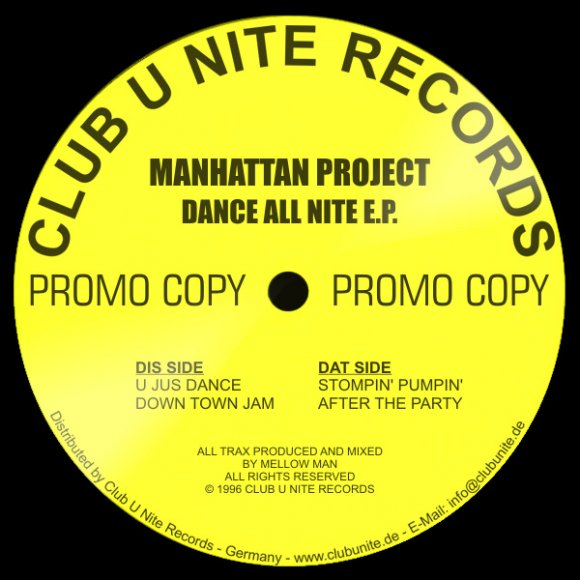 Manhattan Project - U Jus Dance (5:43)